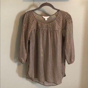 Women's Lauren Conrad 3/4 Sleeve Blouse